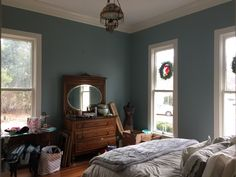 From guest room/parlor