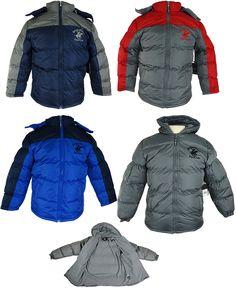 Boy's Fleece Winter Coats Case Pack 24