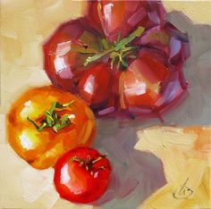 Original artwork from artist Tom Brown on the Daily Painters Gallery Academic Drawing, Still Life Flowers, Fruit Art, Fruit And Veg, Office Art, Edible Art, All Art, Watercolor Art, Original Paintings