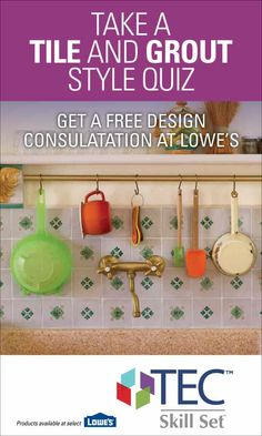 A fun and short quiz to discover your home design style, especially how it pertains to tile, grout, and design accessories. The perfect starting point for your next DIY tile installation project. Kitchen Organization, Organization Hacks, Countertop Options, Kitchen Hacks, Kitchen Ideas, Tile Grout, Tiling, Tile Installation, Kitchen Tile