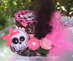 Pink and Black Rocker Mad Hatter Styled Birthday by PMDBoutique, $22.00