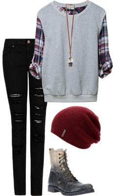 """School"" by i-create-the-trends on Polyvore"