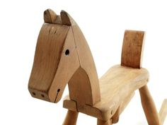 Rocking horse 1936 by Kay Bojesen