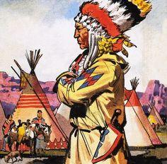 Blackfeet Indians art   Blackfoot Indian