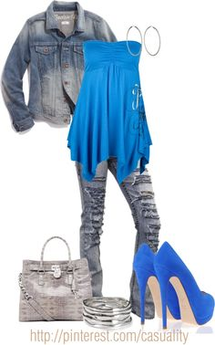 """""""Urban Denim"""" by casuality on Polyvore"""