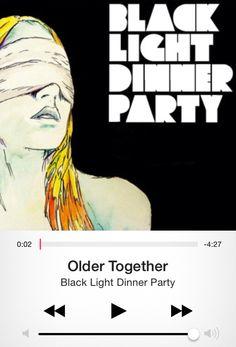 Older Together, Black Light Dinner Party