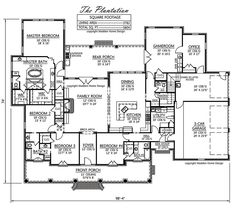 Madden Home Design   The Heartwood | Floor Plans | Pinterest | Acadian House  Plans, French Country House Plans And French Country House