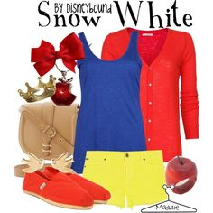Snow White .. Simple Halloween. A great way to do Halloween as a parent taking your kids trick or treating.