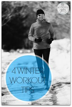 Winter got you down about your workouts? No longer with these 4 ideas! via @fitbottomedgirl
