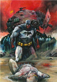 The Dark Knight by Mike Huddleston