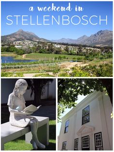Our weekend wanderings around the pretty South African town of Stellenbosch located in the heart of the Cape Winelands of the Western Cape (plus 2 videos! Open Air Restaurant, Africa Travel, Tanzania, Family Travel, South Africa, Egypt, Traveling By Yourself, Places To Visit, Cape Town