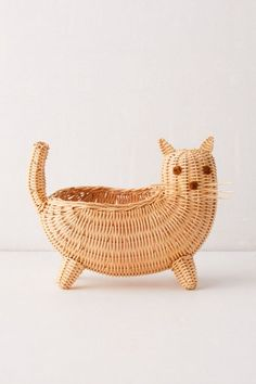 Kitty Catch-All Basket | Urban Outfitters Canada