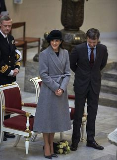 Royal Family Around the World: Crown Princess Mary and Crown Prince Frederik of Denmark marked the 500th Reformation Anniversary in Copenhagen on December 4, 2017