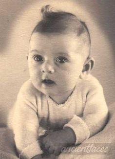 Too cute! Little Alida Baruch a few months old, taken shortly before she was deported with her parents to Auschwitz on July 16th, 1942. So sad - let us never forget. Original: http://www.ancientfaces.com/photo/alida-baruch-1942/1276654