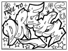 Graffiti Art Coloring Pages - Graffiti Art Coloring Pages , Coloring Graffitis Characters Street Art Adult Coloring Graffiti Art, Graffiti Alphabet, Graffiti Lettering, Doodle Alphabet, Graffiti Images, Graffiti Drawing, Graffiti Styles, Swear Word Coloring Book, Love Coloring Pages