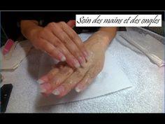 Tuto nail art coquelicot - YouTube