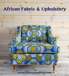 AFRICAN+wax+cloth+chair+title.jpg (568×626)
