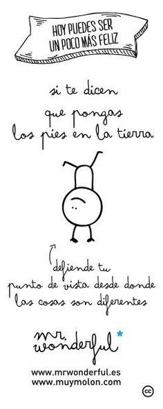 be diferente