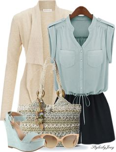 """""""Jumpsuit for Spring"""" by stylesbyjoey on Polyvore"""