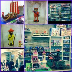 Mi compañera de trabajo inaugura la tienda MásKClicks especializada en #playmobil la podéis encontrar en Hospitalet de Llobregat en la calle Roselles n.5. #clicks #catalogo #descatalogados #coleccionistas #vintage #custom