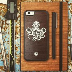 The Myth the Legend the Kraken! Release this case onto your iPhone browse now on www.KeywayDesigns.com!
