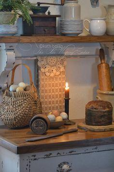 .. lovely kitchen primitives! - The Olde Weeping Cedar
