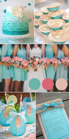 Hochzeitsfarbe Trend 2015: Blaue Hochzeit Inspiration | Hochzeitsblog Optimalkarten