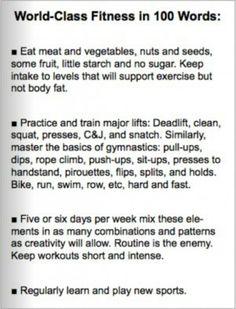 World class fitness