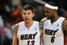 Mike Miller and LeBron James.  Miller to sign with CAVS!  7/15/2014