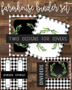 Organize and stylize your teacher binders with this Farmhouse inspired themed binder decor. If you love clean, farmhouse decor, you will love this sweet little buffalo check themed binder set. Classroom Decor Themes, Classroom Design, Future Classroom, Classroom Organization, Classroom Libraries, Classroom Ideas, Teacher Binder, Organized Teacher, Class Decoration