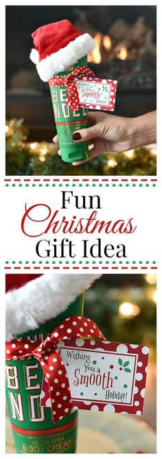 Christmas Gift with Lotion-Great Christmas Gift Idea for Friends and Coworkers