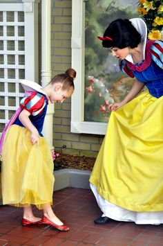 Snow White and her Friend