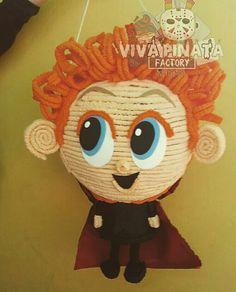 Piñata Denis Hotel  Transylvania 2... por que siempre en #VivaPiñataFactory  siempre tenemos los personajes antes que nadie. #ApoyenElTalentoMexicano