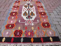Check out this item in my Etsy shop https://www.etsy.com/listing/519382518/vintage-turkish-kilim-rug-red-rug