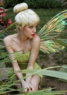You would make the cutest Tinker Bell type fairy :) Tinkerbell Costume Disney Princess Halloween Costumes, Disney Costumes, Adult Costumes, Princess Costumes, Disney Diy, Costume Wigs, Cosplay Costumes, Peter Pan Kostüm, Mardi Gras