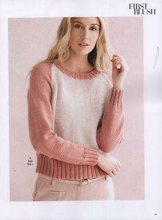 Vogue Knitting Early Fall 2015 - 轻描淡写 - 轻描淡写