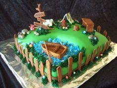 Camping Cake :) from Anita