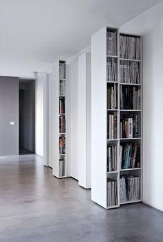 Modular bookcase BLIO by @Kristalia Interiors