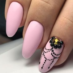 Beautiful nails 2017, Gentle nails 2017, Gentle nails with a picture, Nails ideas 2017, Nails with rhinestones, Nails with rhinestones ideas, Painted nail designs, Pale pink nails