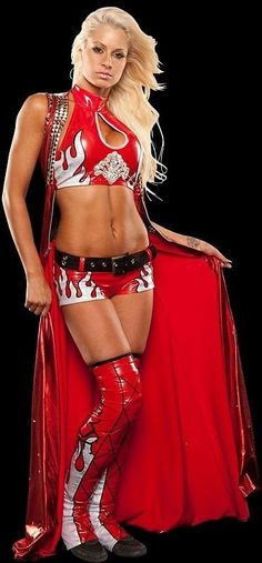 The French-Canadian Beauty, Former WWE Diva Maryse