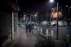 Downtown Amman, Jabal Hussein, at closing time :)
