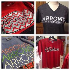 Have you been by to see our new #ClintonArrow apparel?