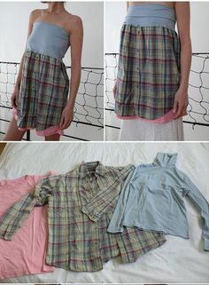 1000 images about ropa reciclada on pinterest old - Reciclar ropa manualidades ...
