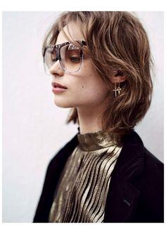 """""""A Velvet Jacket"""" Birgit Kos for Glamour France January 2016"""