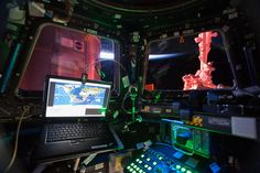 Interior View From the International Space Station Cupola | NASA