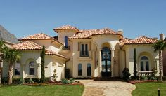Mediterranean Style Custom Home Builder | Avida Custom Homes | Style Gallery