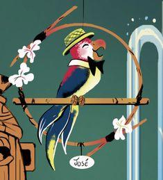 Disney Images, Disney Pictures, Disney Home, Disney Diy, Disney Birds, Tiki Art, Tiki Tiki, Disney Enchanted, Tiki Bar Decor