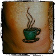 Coffee tattoo!
