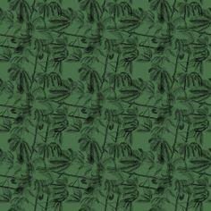 One of my tropical patterns. © Karen Dreyfus