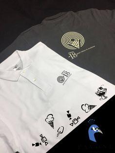 Polo μπλουζάκια 100% cotton, με στάμπα στην πλάτη και στο στήθος το logo της επιχείρησης.